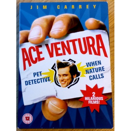 2 x Ace Venture - Pet Detective and When Nature Calls (DVD)