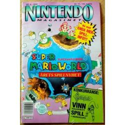 Nintendo Magasinet: 1992 - Nr. 4 - Super Mario World