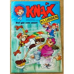 KNAX: 1991 - Nr. 1 - Det går som smurt