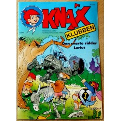 KNAX: 1991 - Nr. 4 - Den svarte ridder Lurius