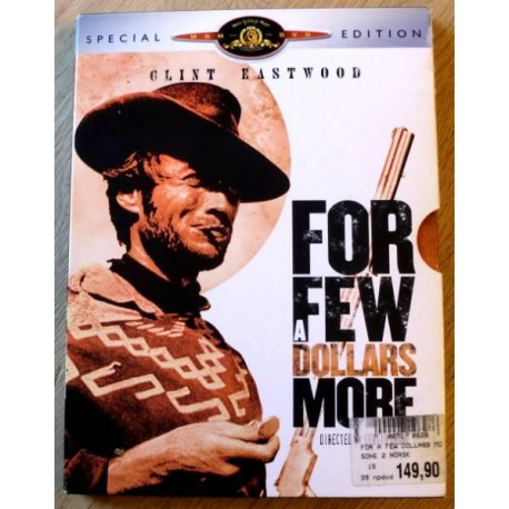 For A Few Dollars More - Clint Eastwood (DVD)