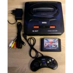 SEGA Mega Drive II: Komplett konsoll med tre spill