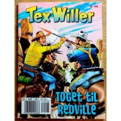 Tex Willer: Nr. 498 - Toget til Redville