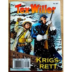 Tex Willer: Nr. 497 - Krigsrett