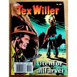 Tex Willer: Nr. 495 - Utenfor allfarvei