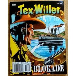 Tex Willer: Nr. 481 - Blokade