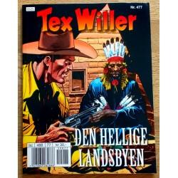 Tex Willer: Nr. 477 - Den hellige landsbyen