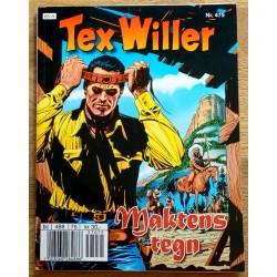Tex Willer: Nr. 475 - Maktens tegn