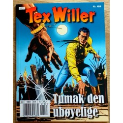 Tex Willer: Nr. 484 - Tumak den ubøyelige