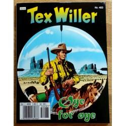 Tex Willer: Nr. 483 - Øye for øye