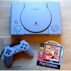 Playstation 1: Konsoll med spill
