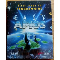 Easy AMOS - First Steps to Programming (Europress) (Amiga)