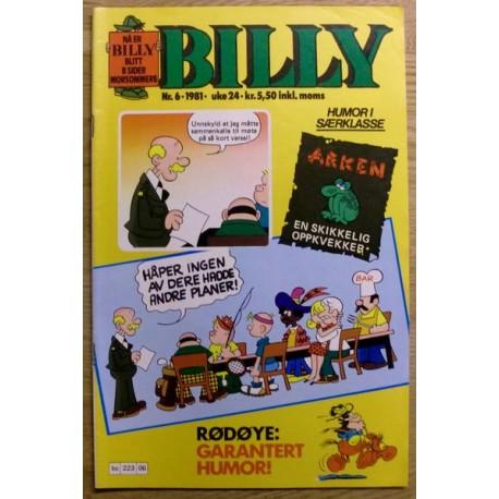 Billy: 1981 - Nr. 6