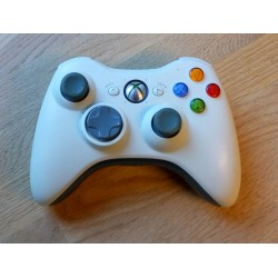 Xbox 360: Offisiell Microsoft Joypad - Hvit