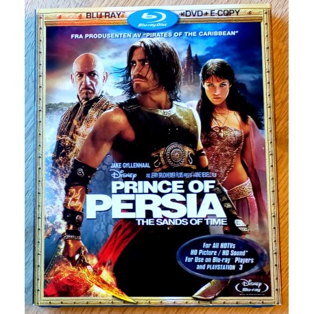 Prince of Persia - The Sands of Time (Blu-ray og DVD)