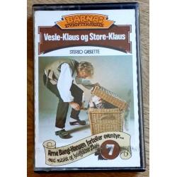Barnas Eventyrserie: Nr. 7 - Vesle-Klaus og Store-Klaus