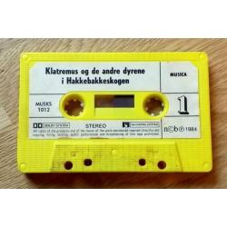 Klatremus og de andre dyrene i Hakkebakkeskogen (kassett)