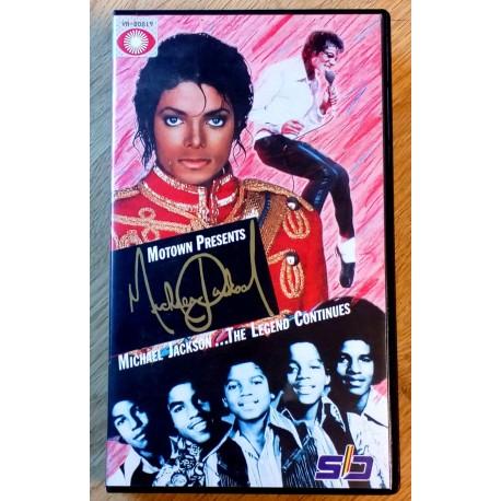 Michael Jackson: The Legend Continues (VHS)