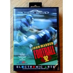 SEGA Mega Drive: John Madden Football '92 (Electronic Arts)