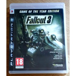 Playstation 3: Fallout 3 - Game of the Year Edition - GOTY (Bethesda)