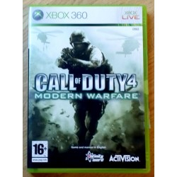 Xbox 360: Call of Duty 4 - Modern Warfare (Activision)