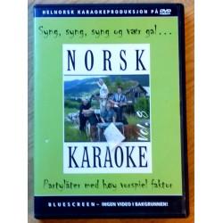 Norsk Karaoke - Partylåter med høy vorspiel faktor (DVD)