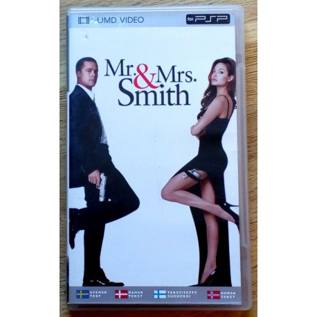 Sony PSP: Mr. & Mrs. Smith (UMD)