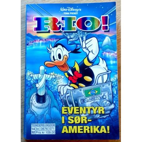 Walt Disney's Tema pocket: Rio! Eventyr i Sør-Amerika!