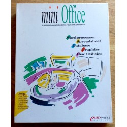 Mini Office - Wordprocessor, Spreadsheet, Database, Graphics, Disk Utilities