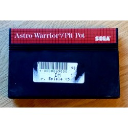 SEGA Master System: Astro Warrior / Pit Pot (cartridge)