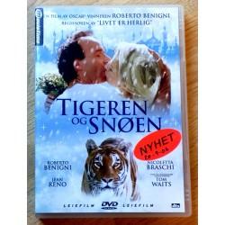 Tigeren og Snøen (DVD)