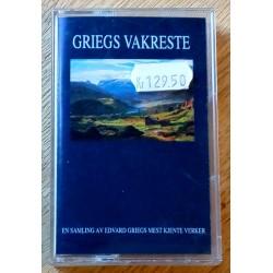 Griegs vakreste - En samling av Edvard Griegs mest kjente verker (kassett)