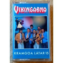 Vikingarna: Kramgoa Låtar 15 (kassett)