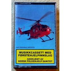 Musikkcassett med førstehjelpsinnslag - Godkjent av Norsk Folkehjelp Sanitet (kassett)