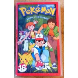 Pokemon: Nr. 16 - Kampen i Ninjatempelet (VHS)