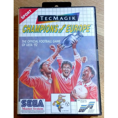 SEGA Master System: Champions of Europe - The Official Football Game of UEFA '92