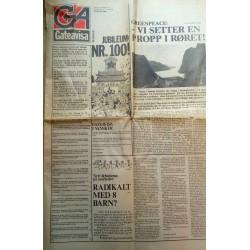 Gateavisa - Nr. 5 - 1984 (100) - Jubileumsnummer