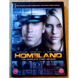 Homeland - The Complete First Season (DVD)