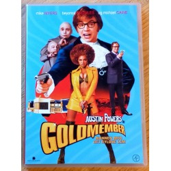 Austin Powers in Goldmember - Mannen med det gyldne lem (DVD)