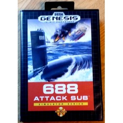 SEGA Mega Drive: 688 Attack Sub