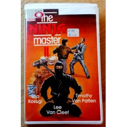 The Ninja Master (VHS)