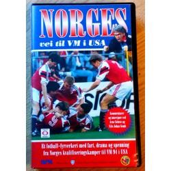 Norges vei til VM i USA 1994 (VHS)