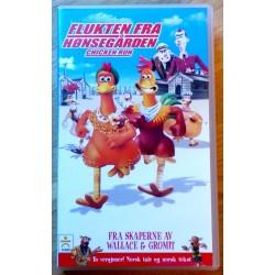 Flukten fra Hønsegården - Chicken Run (VHS)