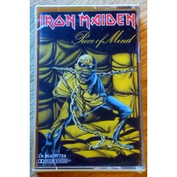 Iron Maiden: Piece of Mind (kassett)