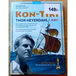 Kon-Tiki - Thor Heyerdal - Den originale dokumentarfilmen (DVD)