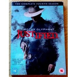 Justified - The Complete Fourth Season (DVD)