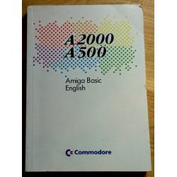 A2000 A500 - Amiga Basic English