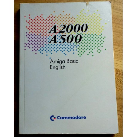 A2000 A500 - Amiga Basic English