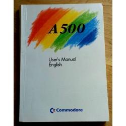 A500 User's Manual - English