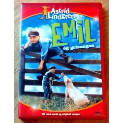 Astrid Lindgrens Emil og grisungen (DVD)